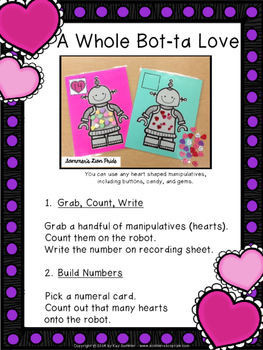 Counting 1-20 {valentine themed}