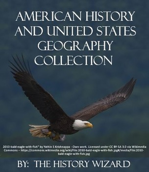 American History and United States Geography Collection (History Wizard)