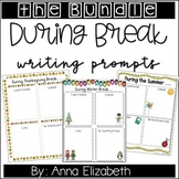 A Whole Year of NO PREP Writing Prompts *GROWING BUNDLE* 50% OFF
