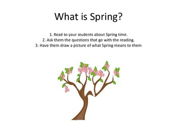 Preschool and Kindergarten Unit: Spring