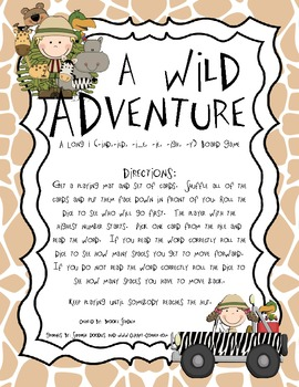 A Wild Adventure: A Long I Review Game