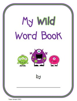 A Wild Word Book for Primary Writers
