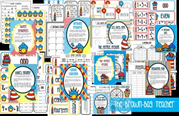 A Wildly Whimsical Birthday: 12 Math Centers Aligned with the Common Core