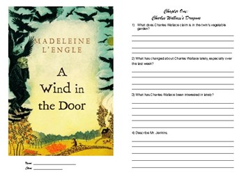 A Wind In The Door Novel Study Booklet