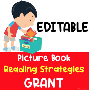 A Winning Grant Proposal-$2,400: Picture Books for Reading Strategies - EDITABLE