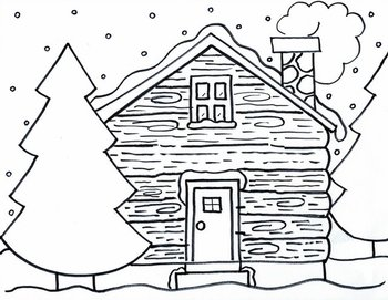 A Winter Cabin