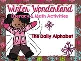 A Winter Wonderland: Literacy and Math Activities
