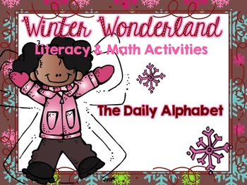 A Winter Wonderland: Literacy and Math Activities