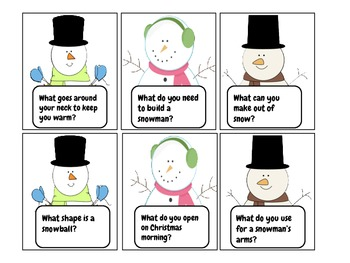 A Winter Wonderland of {Pre-K/K} Language