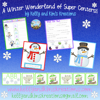 A Winter Wonderland of Super Centers!