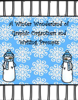 Winter Writing and Literacy Graphic Organizers