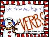 A Wintry Mix of Verbs FREEBIE