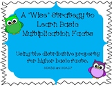 "The ""Wise"" Distributive Property for Multiplication Facts:"