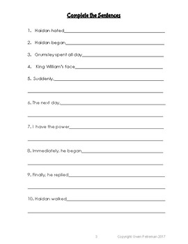 A Primary  Literacy and Grammar  Booklet