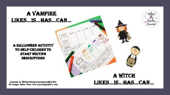 A Witch/Vampire Likes...Is...Has...Can