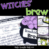 Witches' Brew Halloween Craft & Writing, Halloween Activities