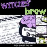 Witches' Brew Halloween Craft & Writing, Halloween Activities