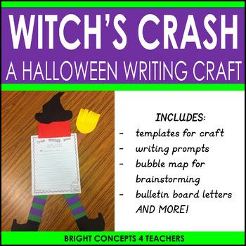 A Witch's Crash- Writing Craftivity