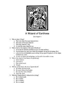 A Wizard of Earthsea Quiz 001