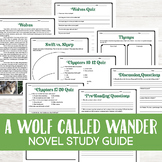 A Wolf Called Wander Novel Study