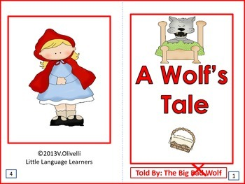 "ESL Resources: Vocabulary/Literacy Skills ""A Wolf's Tale""-"