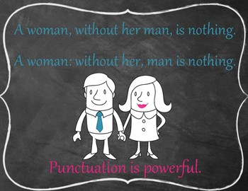 A Woman Without Her Man Grammar Poster