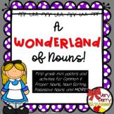 A Wonderland of Nouns-First Grade