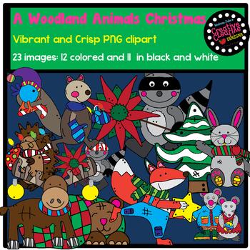 A Woodland Animal Christmas
