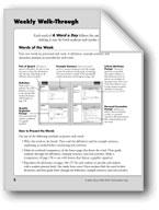 A Word A Day: Teacher Directions, Grade 5
