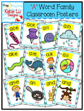 """A"" Word Family Classroom Posters"