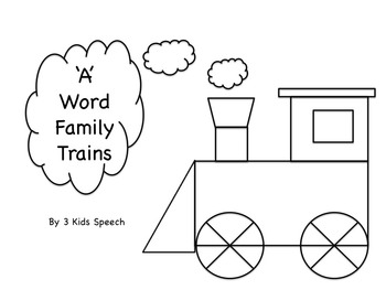 'A' Word Family Trains