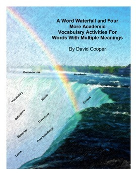 A Word Waterfall and Four More Academic Vocabulary Activities