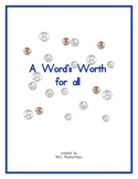 A Word's Worth for all