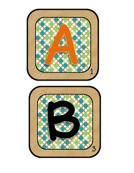 A Working with Words Game {Boggle/Scrabble Theme}