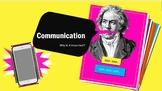 A World Without Communication: Communication, Miscommunica