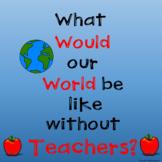 A World Without Teachers Class Book in Google Slides™