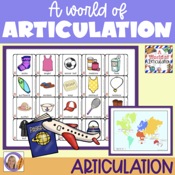 Articulation Game for speech and language therapy: A World of Articulation