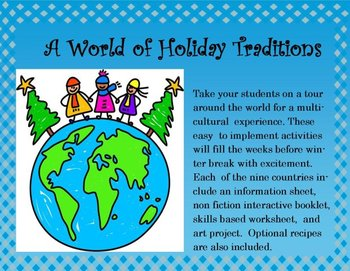 A World of Holiday Traditions at Christmastime