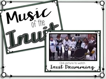 A World of Music, Inuit