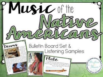 A World of Music, Native Americans