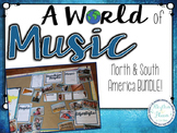 A World of Music, North & South America BUNDLE