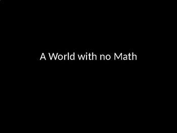 A World with No Math presentation