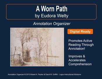 """A Worn Path"" by Eudora Welty: Annotation Organizer"