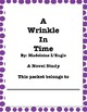 A Wrinkle In Time Book Study