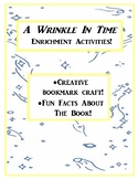 A Wrinkle In Time Bookmark and More!