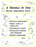 A Wrinkle In Time Deluxe Enrichment Pack! Crafts, Science