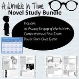 A Wrinkle In Time Novel Study Bundle: engaging worksheets,