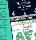 A Wrinkle In Time Novel Study and Comic Classroom Decor