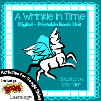 A Wrinkle in Time [Madeleine L'Engle] Book Unit