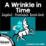 A Wrinkle in Time Novel Study: Digital + Printable Book Unit [Madeleine L'Engle]